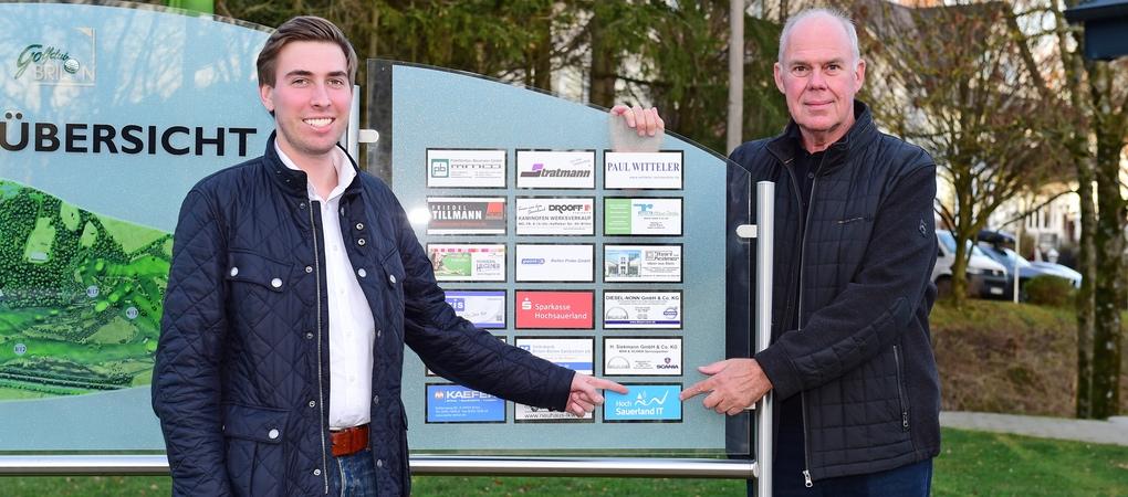 Die Hochsauerland IT ist offizieller Partner des Golfclub Brilon e.V.