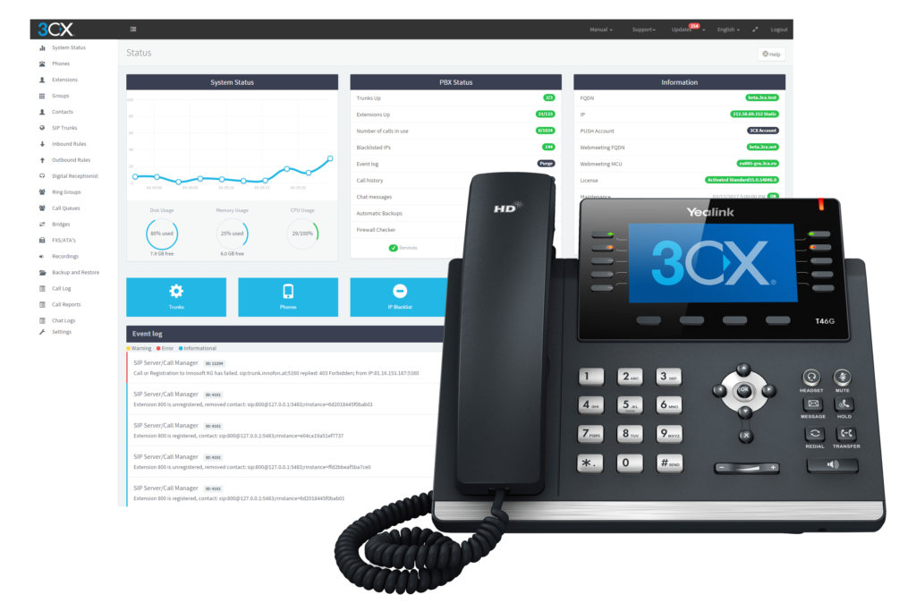 3cx-ManagementConsole